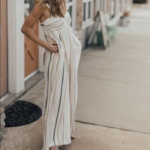 Free People Other - Free People Linen Jumpsuit